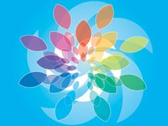 Blue Colored Background Vector