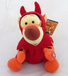 Disney Pooh Tigger Tiger Devil Costume Animated Halloween Plush Toy Home Decor #DisneyCVSPharmacy