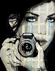 View LOUI JOVER's Artwork on Saatchi Art. Find art for sale at great prices from artists including Paintings, Photography, Sculpture, and Prints by Top Emerging Artists like LOUI JOVER. Newspaper Art, Camera Art, Sketch Painting, Portrait Art, Love Art, Art Girl, Canvas Wall Art, Photo Art, Art Drawings