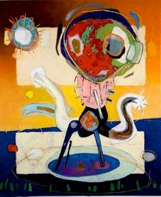 Vrouw met ster by Danny van Walsum