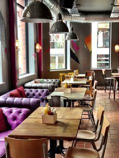 Hopskotch Restaurant, Liverpool, UK designed by Ica