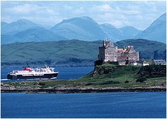 Taking the Caledonian MacBrayne ferry to explore ancient Duart Castle, Scotland