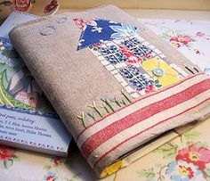 Sweet Home Journal Cover by Bustle & Sew, via Flickr