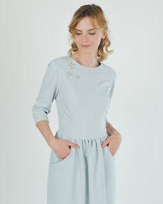 Blankytné šaty