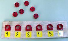Actividad para trabajar la conexion entre numero y cantidad.
