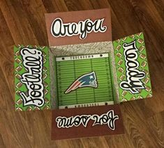Deployment Care Package Box- Football Season- Are you ready for some football?