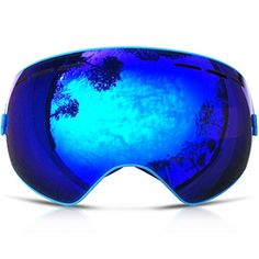 116082137f ZIONOR 10 Colors Lagopus Snowmobile Snowboard Skate Ski Goggles with  Detachable Lens and Wide Angle Double Lens Anti-fog Big Spherical  Professional Unisex ...