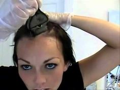▶ How to Color dye Your Hair like in a Salon at Home - YouTube