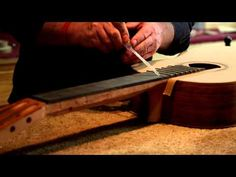 Classical guitar making part 2 - YouTube