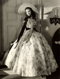 """Scarlett O'Hara...now when I look at her, all I can think is """"histrionic personality disorder."""" Grad school is ruining my life!"""