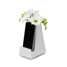 BEDSIDE SMARTPHONE VASE from @uncommongoods
