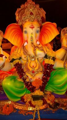 Jai Ganesh, Ganesh Idol, Shree Ganesh, Ganesh Statue, Lord Ganesha, Ganesh Ji Images, Ganesha Pictures, Ganpati Bappa Wallpapers, Good Morning Beautiful Pictures