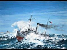 El hallazgo del naufragio del USS Conestoga - YouTube
