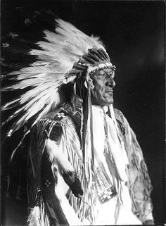 Chief Charging Bear, Blackfoot (early 1900's)