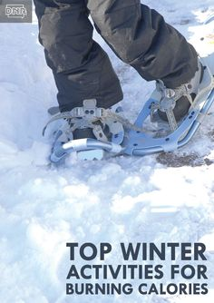 Top Calorie-burning Outdoor Winter Activities from the Iowa DNR