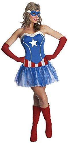 [orginial_title] – Popadynec Dorian Just out Adult American Dream Costume. Huge Selection of Captain America Costume… Just out Adult American Dream Costume. Huge Selection of Captain America Costumes for Halloween at PartyBell. Costumes Avec Tutu, Dress Up Costumes, Adult Costumes, Costumes For Women, Female Super Hero Costumes, Female Costumes, Woman Costumes, Tutu Bleu, Blue Tutu