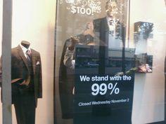 Men's Wearhouse is the 99%