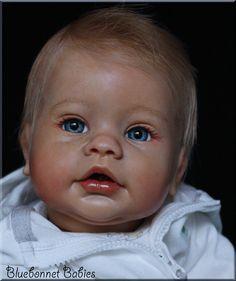 "❀Bluebonnet Babies❀ REBORN Doll RARE Baby ""Keyden"" by Reva Schick! Boy or Girl! #Keyden"
