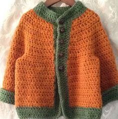 Hecho a mano niños tamaño del suéter 2