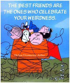 Accept wierdness