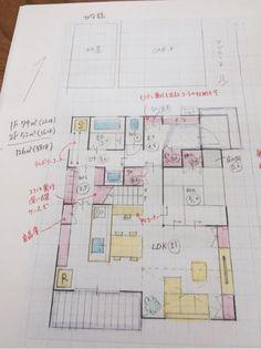 OB様の間取り の画像|♡Fumi 's Blog♡30から建築士を目指すワーママブログ
