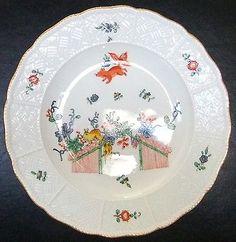 MEISSEN Plate - Flying Squirrel Pattern, Crossed Swords, c. 1815