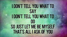 Grace You don't own me ft G-Eazy Lyrics - YouTube