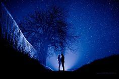 Photo Love under the night sky by Gábor Lajos on 500px