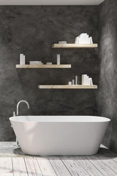 Flavia freestanding bathtub from €1,349.00 in three sizes 210L capacity in white and black/white versions  Stella freestanding bath mixer tap from €429.95 High-quality solid brass construction, floor mounting, high gloss polished chrome finish, ceramic chrome plated shower head - check out in the link below Shower Hose, Shower Screen, Shower Enclosure, Bathroom Interior, Bathroom Ideas, Freestanding Bath Taps, Bath Mixer Taps, Bathroom Store, Modern Bathtub