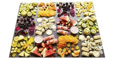 healthy kids party food colour loaded buffet