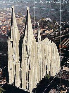 Köln, Dom verhüllt, Christo & Claude