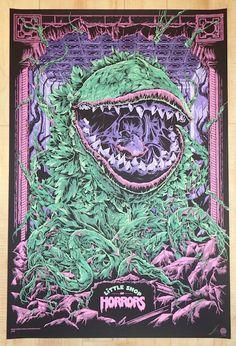 "2014 ""Little Shop Of Horrors"" - Silkscreen Movie Poster by Ken Taylor"