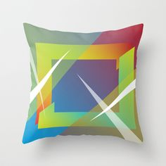 Abstract 109 Throw Pillow cover by Ramon Martinez Jr - $20.00