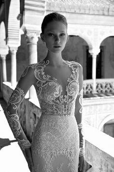 Delicate details. CAROLINE - Alon Livne 2017 Bridal Collection. www.theweddingnotebook.com