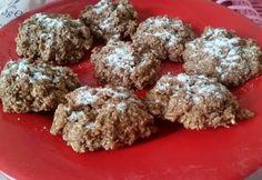 Fahéjas-kókuszos zabkeksz mikróban diétásan Krispie Treats, Rice Krispies, Muffin, Breakfast, Desserts, Food, Morning Coffee, Tailgate Desserts, Deserts