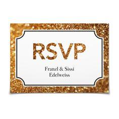 Antwortkarte Goldstaub in Mitternacht - Postkarte flach #Hochzeit #Hochzeitskarten #Antwortkarte #elegant #modern https://www.goldbek.de/hochzeit/hochzeitskarten/antwortkarte/antwortkarte-goldstaub?color=mitternacht&design=653a8&utm_campaign=autoproducts