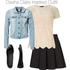 """The Originals - Davina Claire Inspired Outfit"" by staystronng on Polyvore"