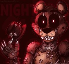 IS THIS SERIOUSLY FNAF 4 FAN ART????!?!?!???