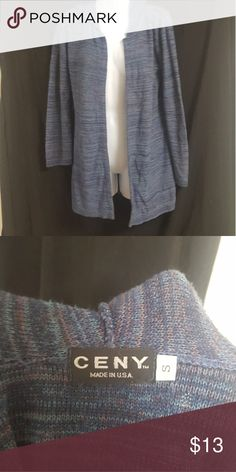 Long Hooded Cardigan Size Small Good condition. It has a hood. Size small Sweaters Cardigans