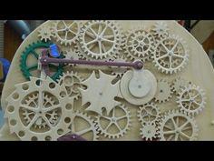 Gear Head Part 2 - Construction & Spring Motor - YouTube
