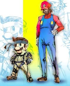 Game Swap with Mario and Snake