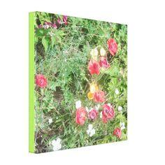 Flower Meadow Dapple Summer 2016 Canvas - v sml Canvas Prints