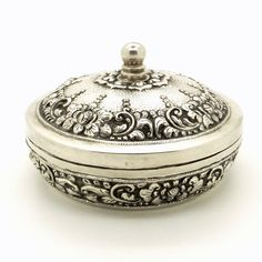 Hey, I found this really awesome Etsy listing at https://www.etsy.com/listing/261208220/antique-800-silver-pill-box-161-grams