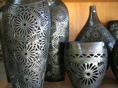 Oaxacan black pottery