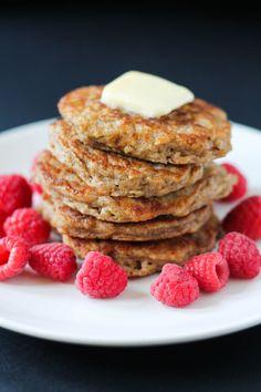 Best Ever Oatmeal Buttermilk Pancakes