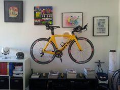 SOLO stylish bike storage or ART! www.cycloc.com