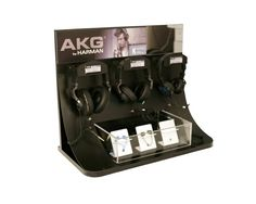 AKG headphone display