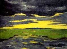 Emil Nolde,Crépuscule1916