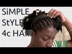 Overview: Sharing my style for the week. Did a simple style so that I could keep my hands out of my hair. Will be rocking a twist out after wearing this for . 4c Natural Hair, Natural Hair Styles, 4c Hair, Twist Outs, Hair Journey, Hair Videos, Simple Style, Cool Hairstyles, Wigs