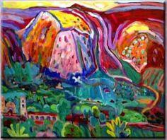 Nancy Whitman paintings on exhibit at Ojai Valley Museum